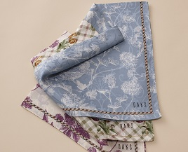 HANDKERCHIEF AND WOMENS SCARF