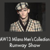 AW13 Milano Men's Collection Runway Show