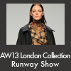 AW13 London Collection Runway Show