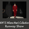 AW15 Milano Men's Collection Runway Show