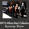 AW16 Milano Men's Collection Runway Show