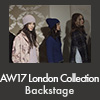 AW17 London Collection Backstage
