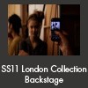 SS11 London Collection Backstage