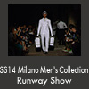 SS14 Milano Men's Collection Runway Show