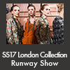SS17 London Collection Runway Show