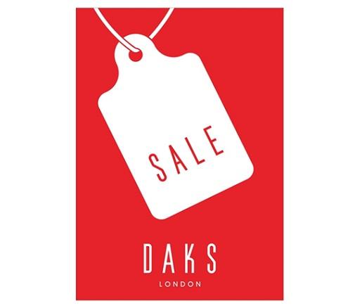 DAKS Online Shop 期末セール
