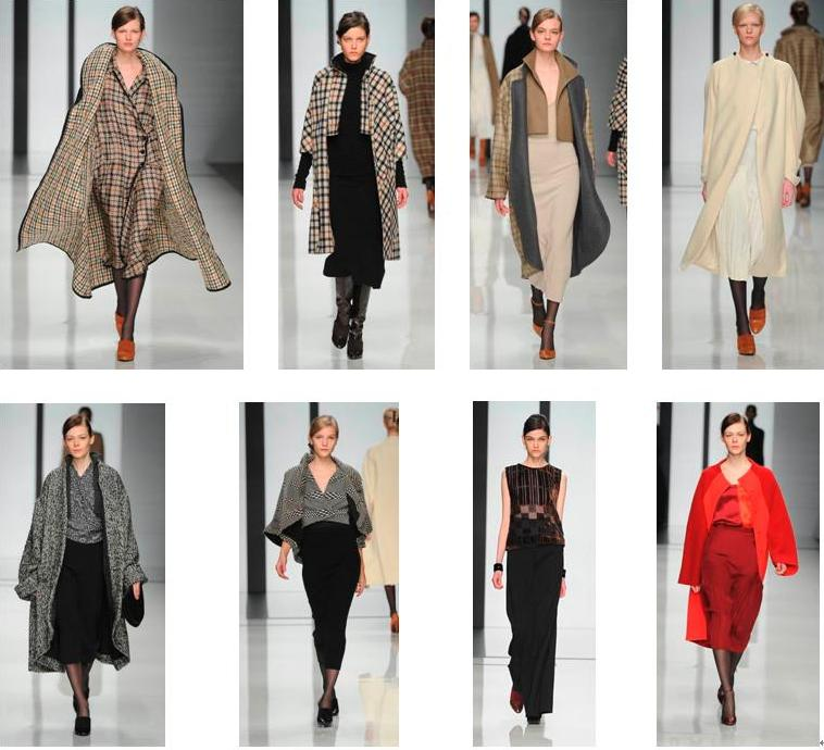 DAKS AUTUMN WINTER 2012 COLLECTION ロンドンファッションショー開催