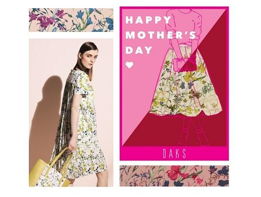DAKS Online Shop 母の日キャンペーン