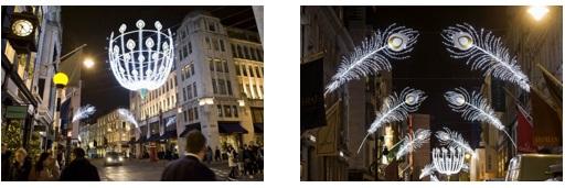 """BOND STREET ILLUMINATIONS"" ~ボンド・ストリートのクリスマス・イルミネーション~"