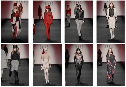 DAKS AUTUMN WINTER 2015 COLLECTION  ロンドンファッションショー開催