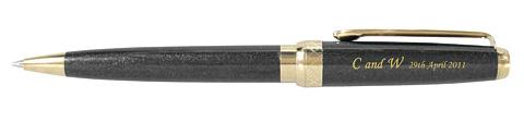 DAKSロイヤル・ウェディング記念ボールペン