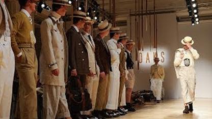 SS18 Milan Menswear Collection Runway Show