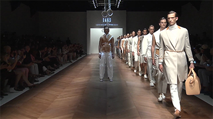 SS16 Milano Men's Collection Runway Show