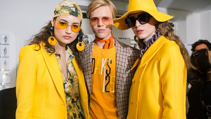 SS19 Milan Mens Womens Collection Backstage
