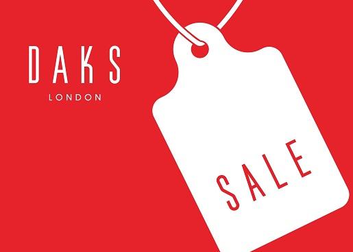 DAKS Online Shop <br>期末セール開催