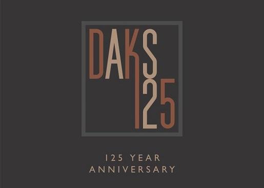 DAKS 125 YEAR ANNIVERSARY
