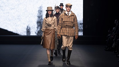 AW19 Milan Mens Womens Collection Runway Show