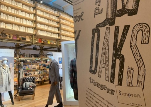 DAKS125周年アニバーサリーイベント<br>「The Story of DAKS ~DAKSが紡ぐ物語~」開催中