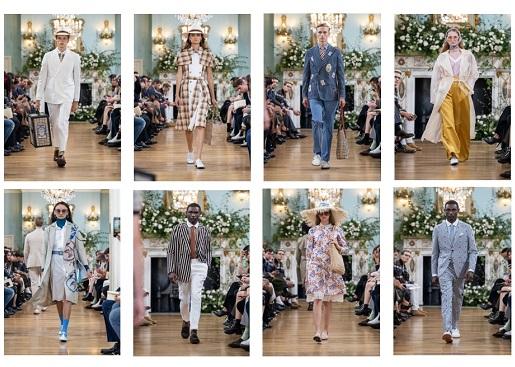 DAKS 2020 SPRING SUMMER<br>ファッションショー開催